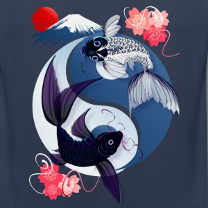 Yin and Yang Koi - Men's Premium Tank