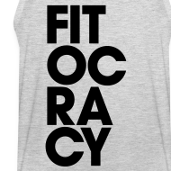 Design ~ Fitocracy - Syllable - Men's Gray Tank