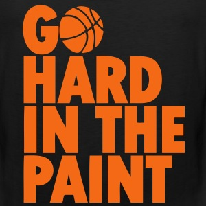 Go Hard In the Paint T-Shirts - Men's Premium Tank
