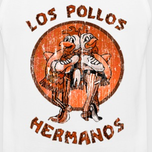 los pollos orange T-Shirts - Men's Premium Tank