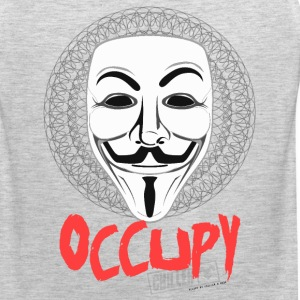 Occupy - Guy Fawkes Mask T-Shirts - Men's Premium Tank