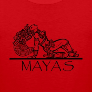 Mayan Chief  T-Shirts - Men's Premium Tank