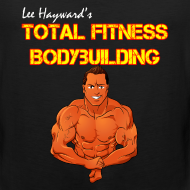 Design ~ Lee Hayward Cartoon Muscle Tank Top