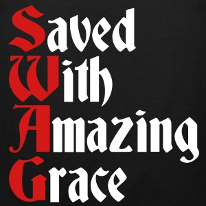 Saved With Amazing Grace (SWAG) T-Shirts - Men's Premium Tank