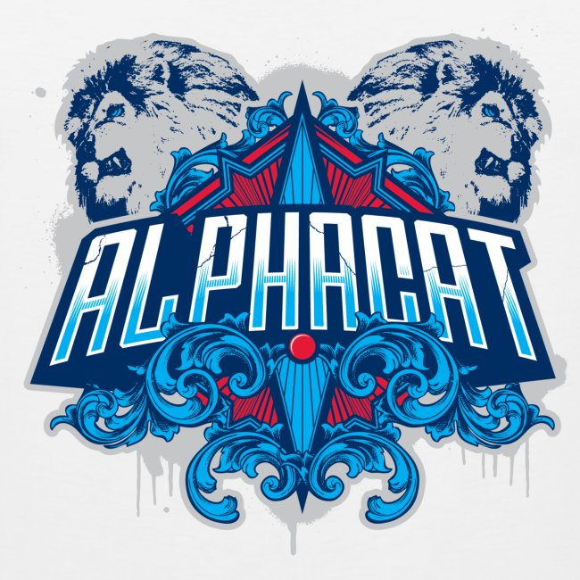 Alphacat White Tank