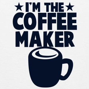 I'm the Coffee maker with mug and stars Tank Tops - Men's Premium Tank