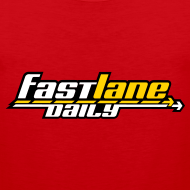 Design ~ Fast Lane Daily logo on Men's Tank Top