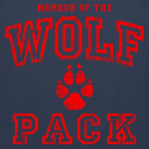Wolf Pack Red T-Shirts - Men's Premium Tank