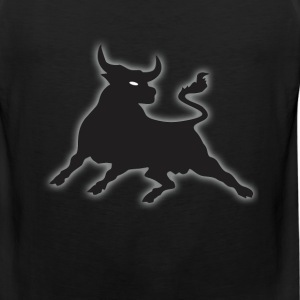Black Power Bull T-Shirts - Men's Premium Tank
