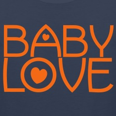 baby love cute font with love hearts lovely! T-Shirts