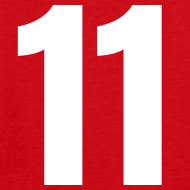 Design ~ Indiana 11 Red and White (Number On Back Also)
