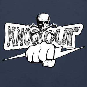 Knockout Fighter 2 T-Shirts - Men's Premium Tank