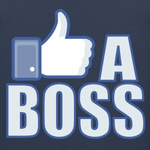 Like a Boss T-Shirts - Men's Premium Tank