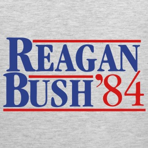Reagan Bush '84 T-Shirts - Men's Premium Tank