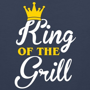King of the Grill T-Shirts - Men's Premium Tank