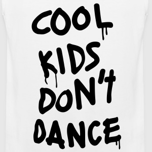Cool Kids Don't Dance T-Shirts - Men's Premium Tank
