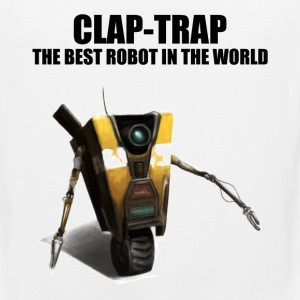 Claptrap - The Best Robot In The World - Men's Premium Tank