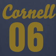 Design ~ Cornell 06 Black and Gold (Number On Back Also)