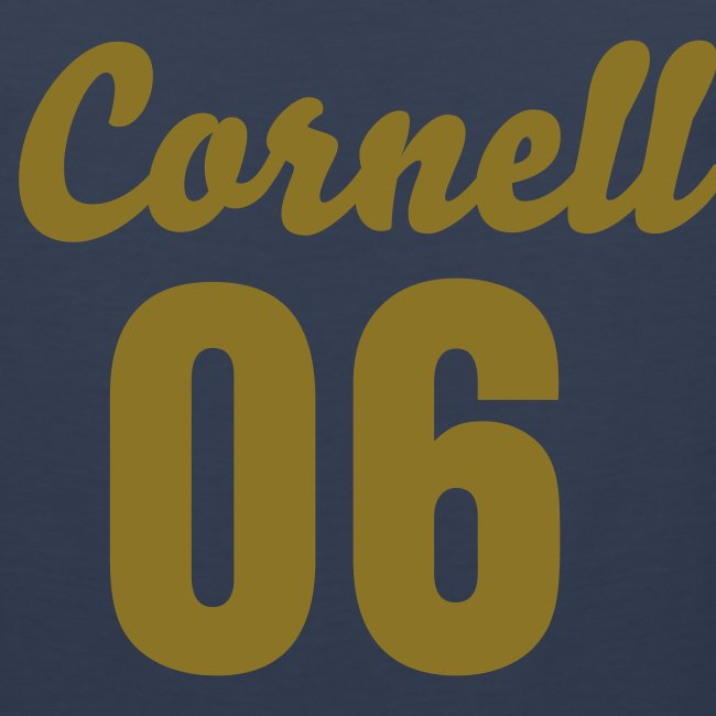 Cornell 06 Black and Gold (Number On Back Also)