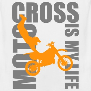 motocross is my life T-Shirts - Men's Premium Tank