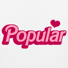 POPULAR! with cute heart funky sexy font T-Shirts