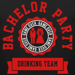 Bachelor Party Drinking Team T-Shirts - Men's Premium Tank