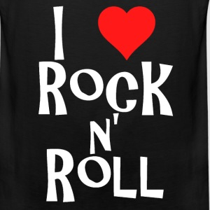i love rock n' roll T-Shirts - Men's Premium Tank