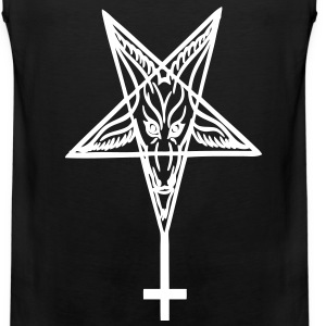 Baphomet cross T-Shirts - Men's Premium Tank
