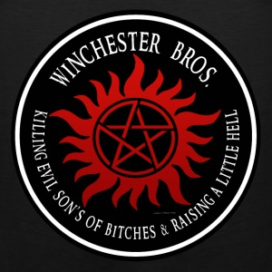 Winchester Bros protection Symbal Ring Patch 03 T-Shirts - Men's Premium Tank
