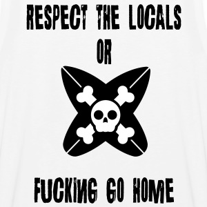 Respect Locals T-Shirts - Men's Premium Tank