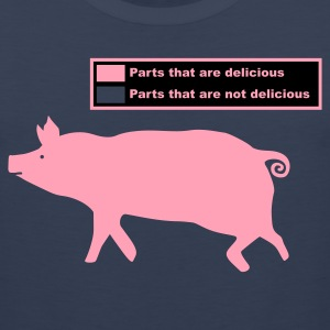 Pig Butchering Guide - Men's Tank - Men's Premium Tank