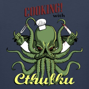 Cooking with Cthulhu! - Men's Premium Tank