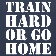 Design ~ Train hard or go home - Men's tank top