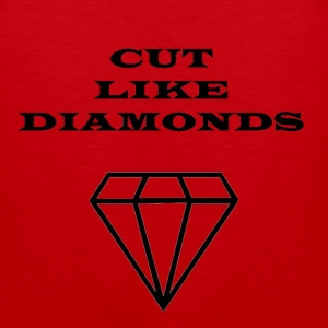 Cut Like Diamonds - Men's Premium Tank
