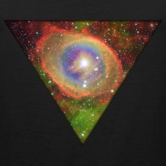 Cosmic Triangle Tank Tops