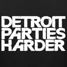 Detroit Parties Harder white