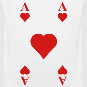 ace of hearts T-Shirts - Men's Premium Tank