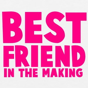BEST FRIEND in the making Tank Tops - Men's Premium Tank