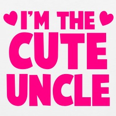 I'm the CUTE UNCLE! Tank Tops