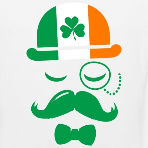 i love ireland irish shamrock St. Patrick's Day Tank Tops - Men's Premium Tank