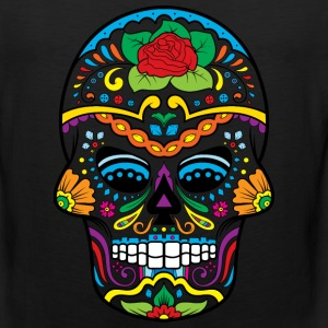 Sugar Skull Tank Tops - Men's Premium Tank