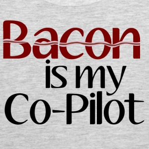Bacon is my Co-Pilot Tank Tops - Men's Premium Tank