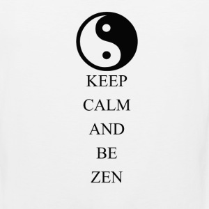 Keep Calm and Be Zen - Men's Premium Tank