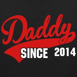 daddy since - your own text Tank Tops - Men's Premium Tank