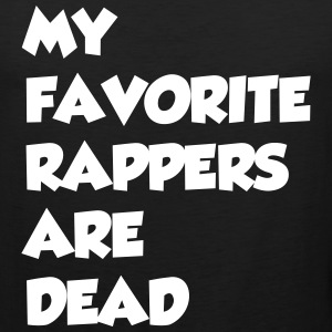 rapper_dead Tank Tops - Men's Premium Tank