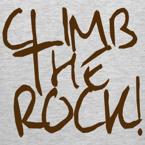 Climb The Rock! climbing Tank Tops - Men's Premium Tank