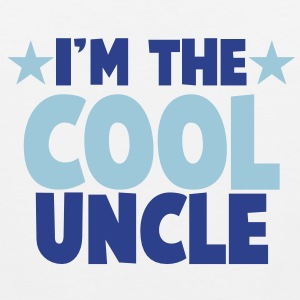 I'm the COOL uncle! Tank Tops - Men's Premium Tank