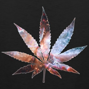 Cosmic Pot Leaf Tank Tops - Men's Premium Tank
