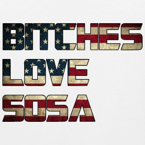 Bitches Love Sosa American Flag Design Tank Tops - Men's Premium Tank