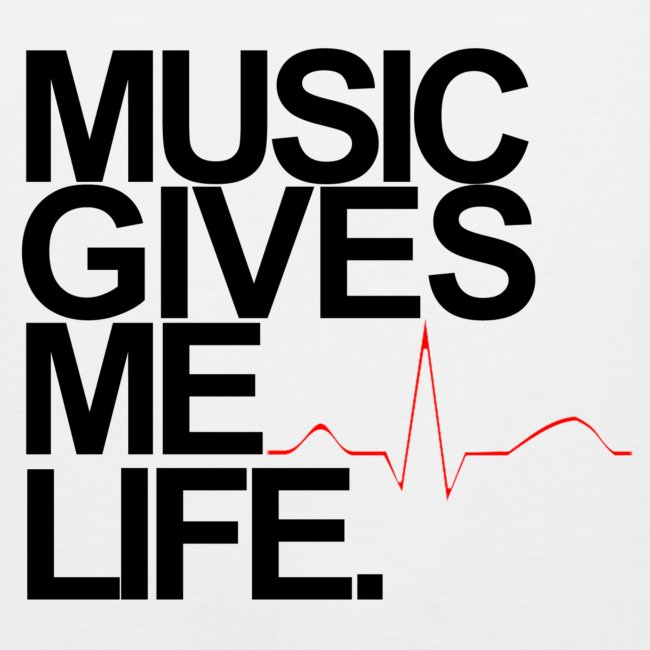 Music Gives Me Life, Chenelle Designs Signature Tee